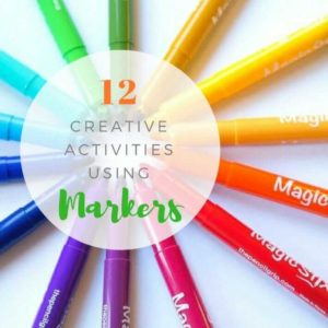 12 Creative Marker Art Ideas for Kids