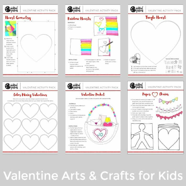 Valentine Activity Pack Examples