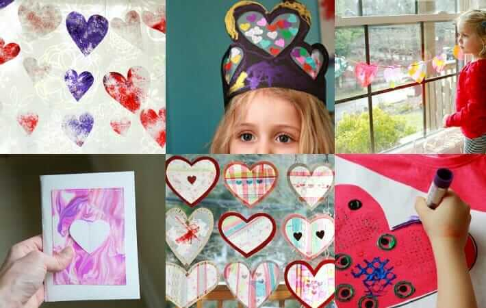 Valentine Crafts - 6 Craft Projects for Kids to Do