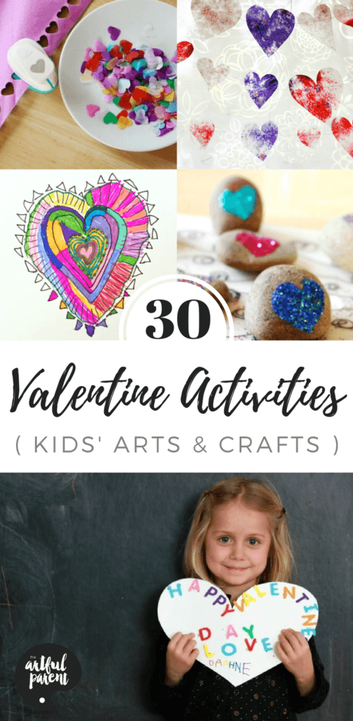30 Valentine Crafts And Activities For Kids With