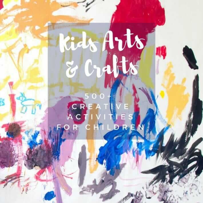 Kids Arts And Crafts Activities 500 Creative Arts And Crafts Projects