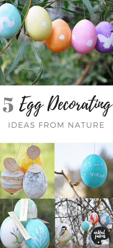 5 BEST Egg Decorating Ideas From Nature #easter #eastereggs #artsandcrafts #eastercrafts #kidsactivities #kidscrafts