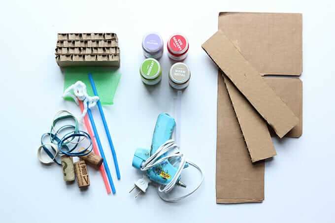 Materials for Creating a DIY Stamp