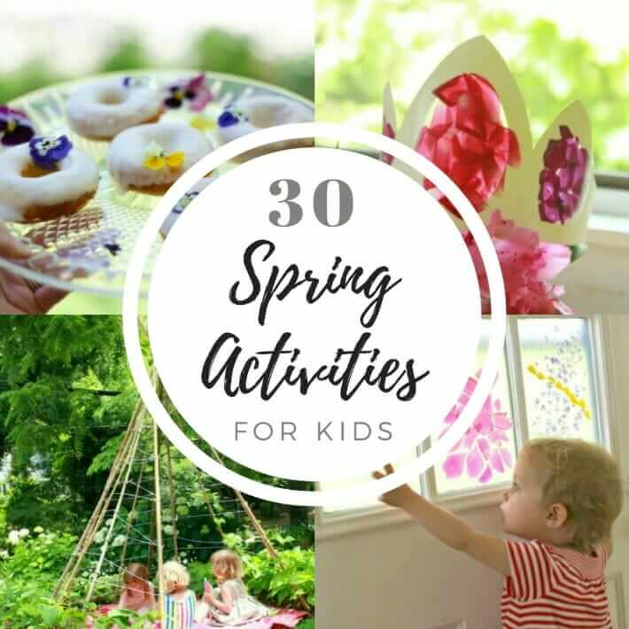 Featured 5 Spring Projects: 30 Spring Activities For Kids (Arts & Crafts, Gardening