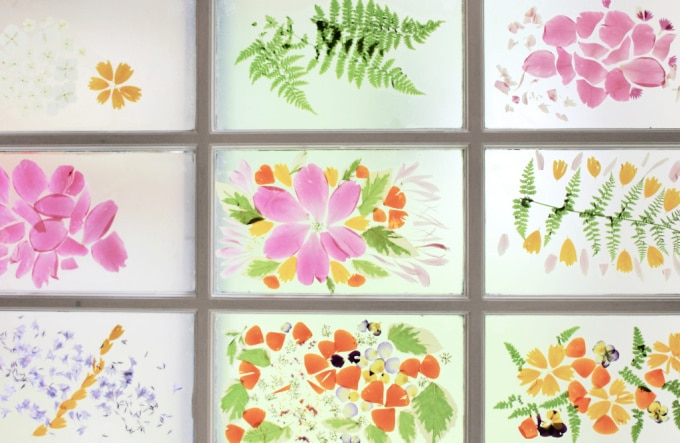 Nature stained glass windows resized