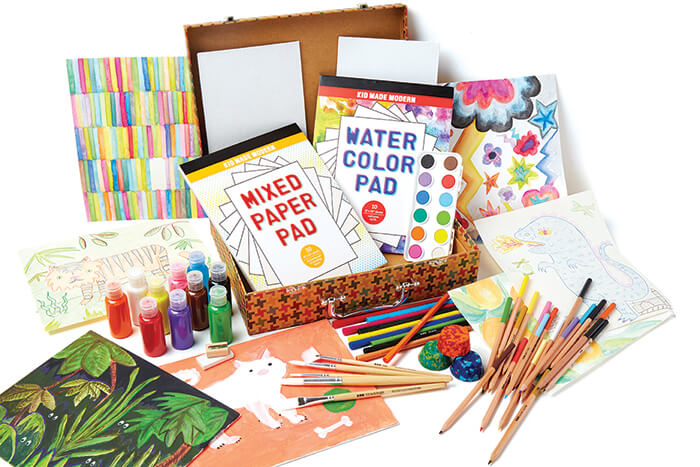 Art craft supplies by kid made modern summer giveaway kid made modern studio in a box publicscrutiny Image collections