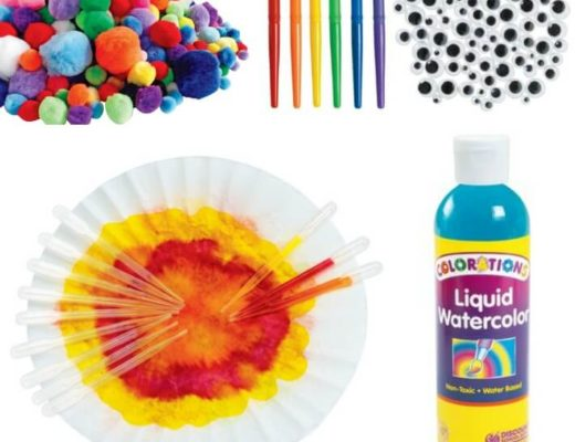 Kids Watercolor Art Supplies by Discount School Supply