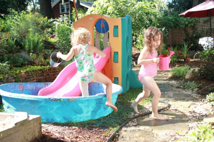 water play for summer crafts and fun