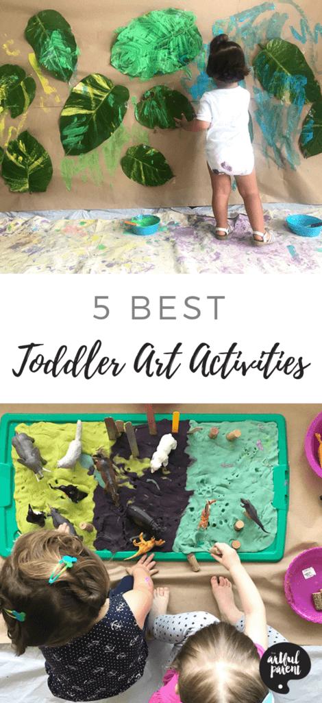 5 BEST Toddler Art Activities