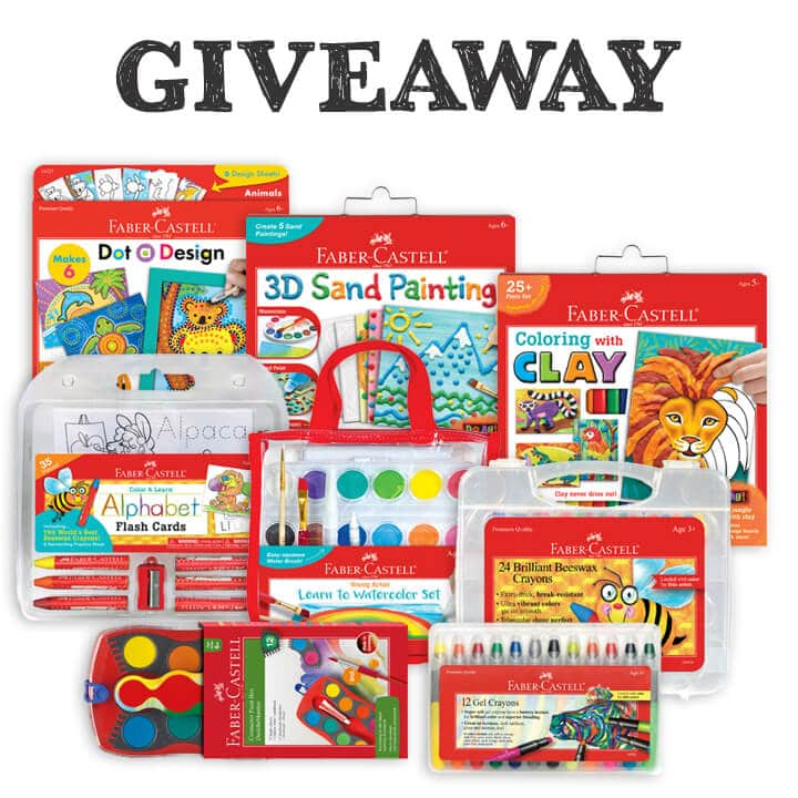 Faber Castell Christmas Giveaway