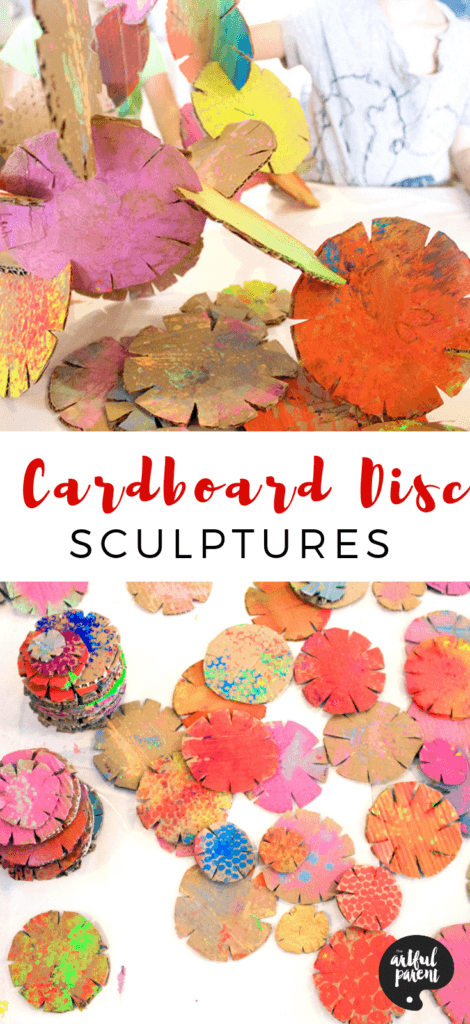 Create These Awesome Sculptures with Cardboard Building Discs