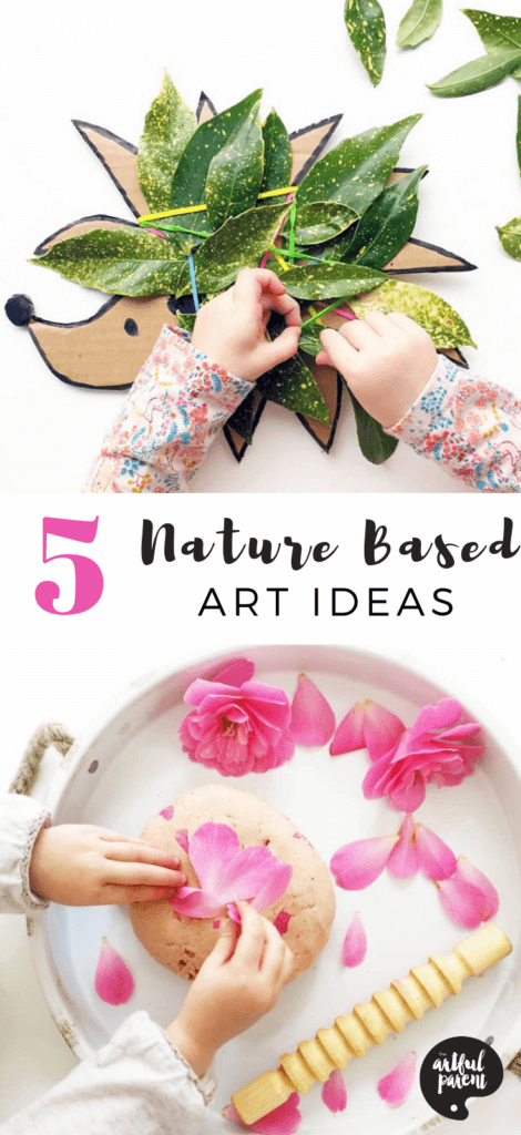 5 Nature Based Art Ideas for Toddlers & Preschoolers