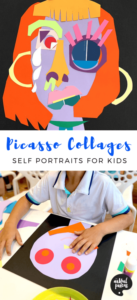Pablo Picasso Collages Inspire Kids to Explore Identity With Self-Portraits