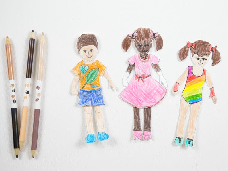 image about Paper Dolls to Printable referred to as Totally free Printable Paper Dolls for Little ones toward Coloration and Customise