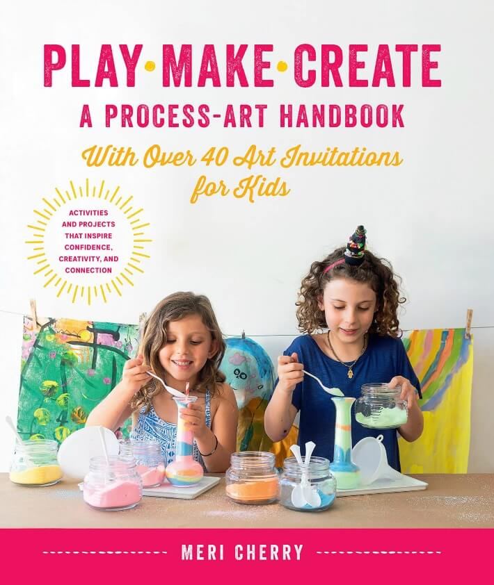 Book Cover for Play Make Create by Meri Cherry