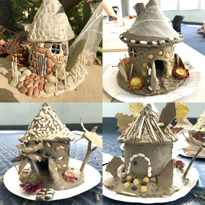 How to Make a Fairy House for Kids With Air Dry Clay