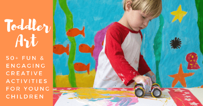 50-Toddler-Art-Activities