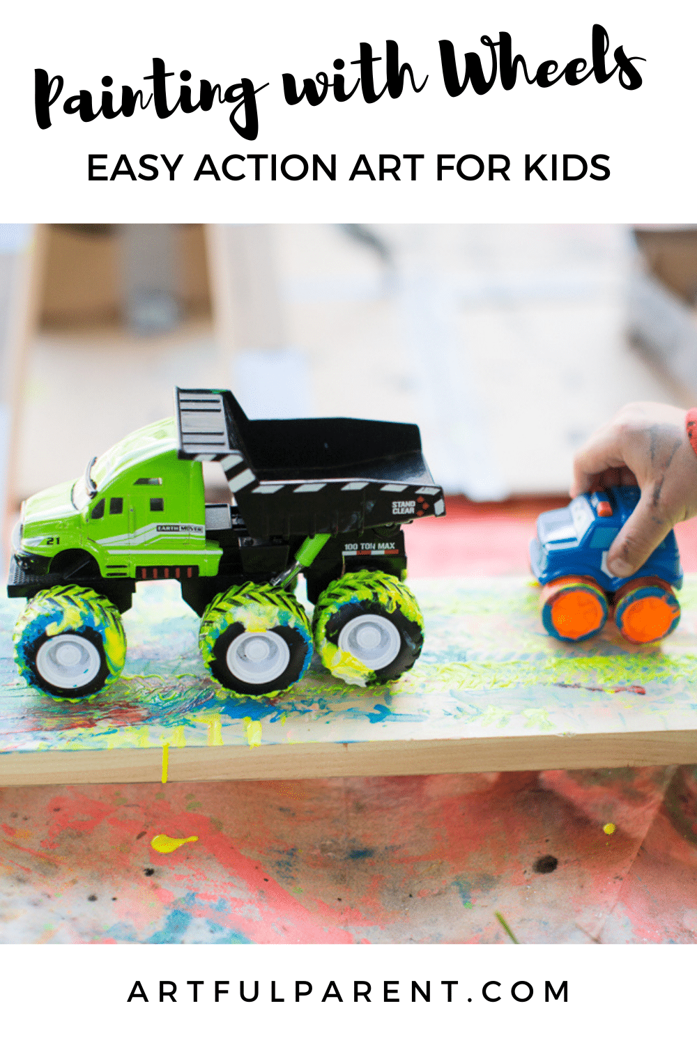 painting with wheels pinterest