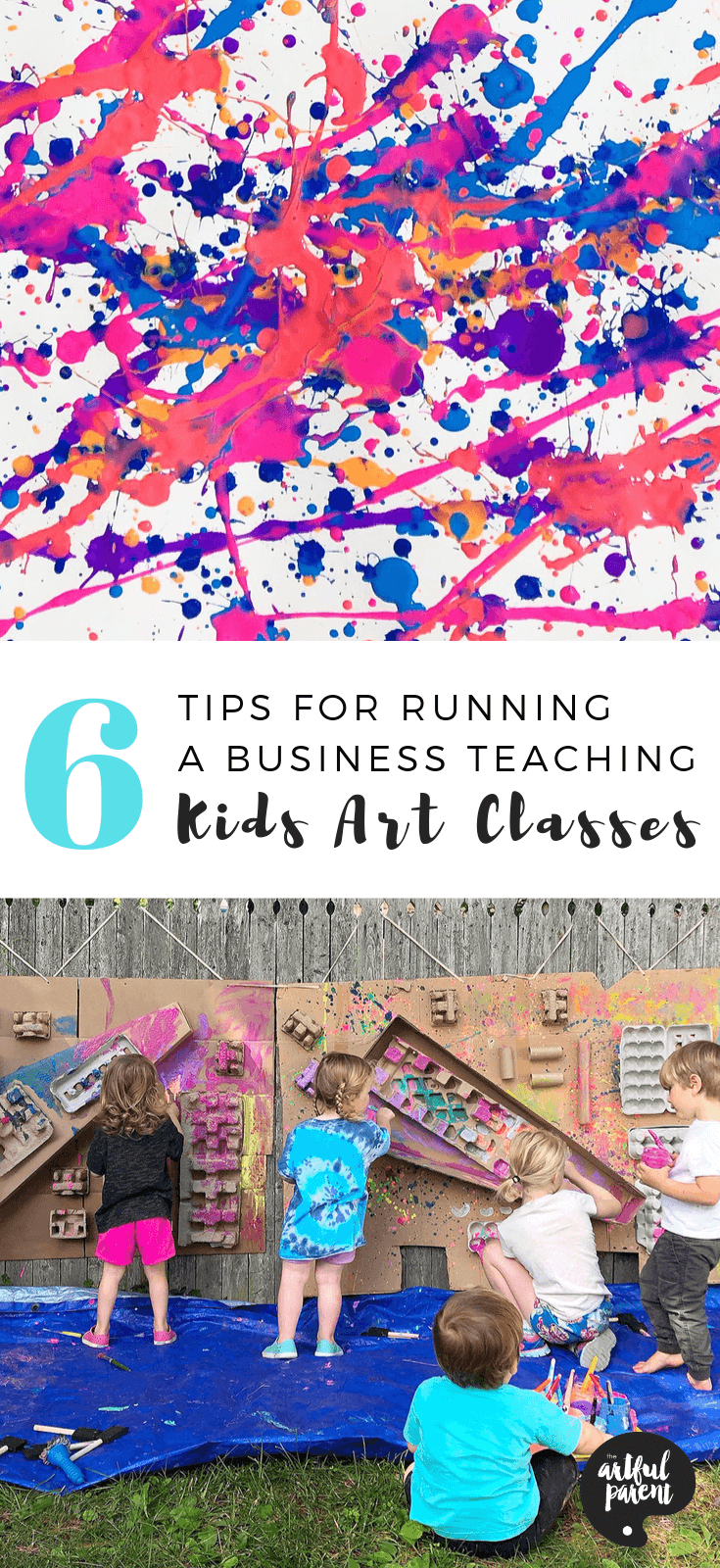 6 Tips for Running a Business Teaching Kids Art Classes