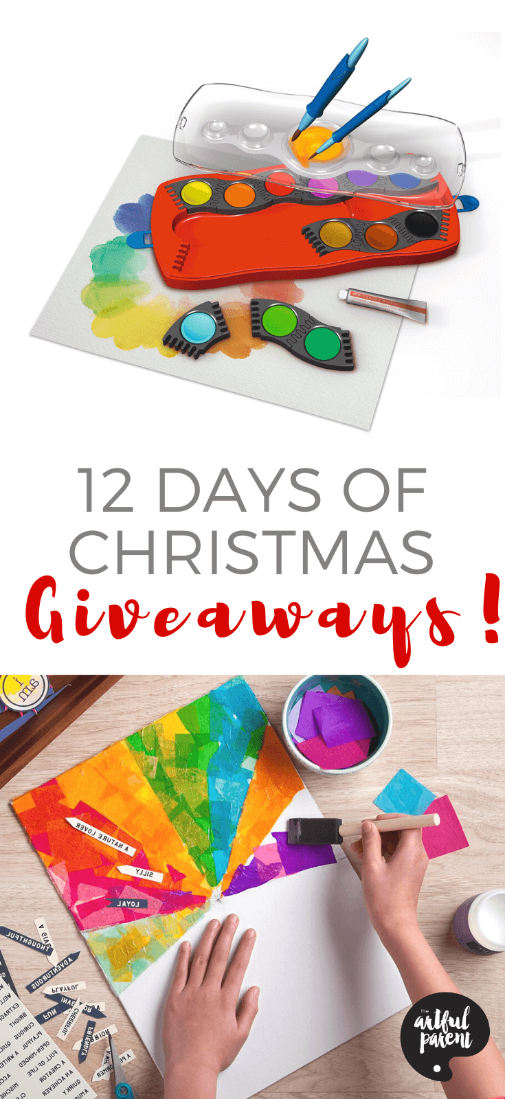 Looking for some fun Christmas giveaways for your family? Here are 12 chances to win 12 creative prizes by 12 family-friendly businesses this holiday.