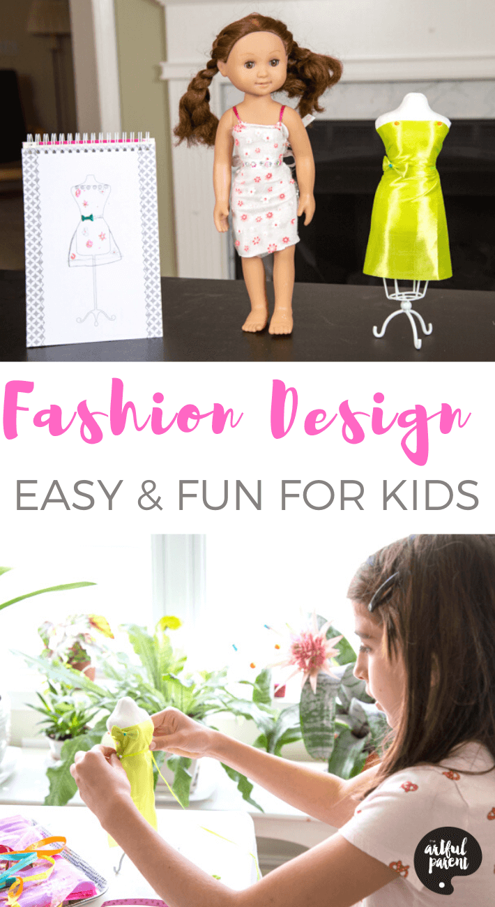 Are your kids into fashion? These kits make introducing fashion design to kids easy & fun with everything needed to start creating their own unique designs.