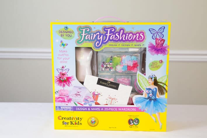 Designed By Me Fairy Fashions Kit for Kids by Faber-Castell Creativity for Kids - so children can create their own fairy clothes and dolls