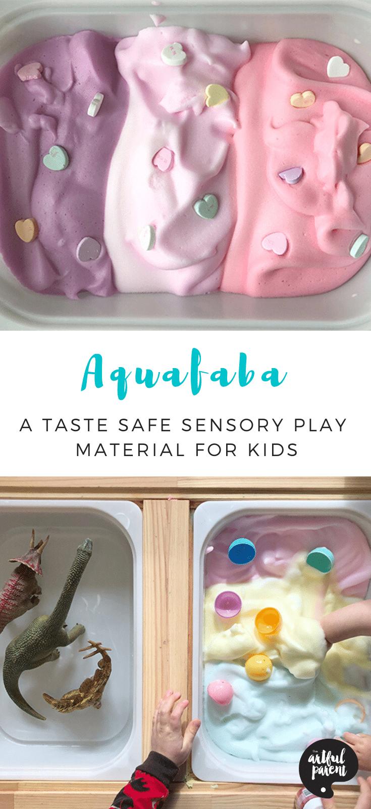 How to Make Aquafaba (A Taste-Safe Sensory Play Material for Kids)