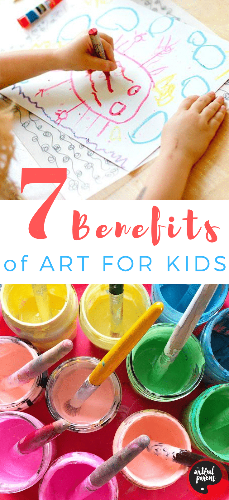 7 Amazing Benefits of Art for Kids