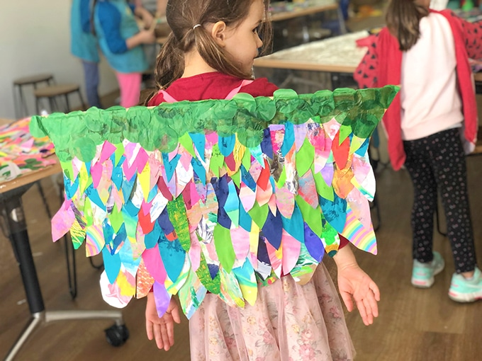 DIY paper wings for kids – creative play ideas for kids