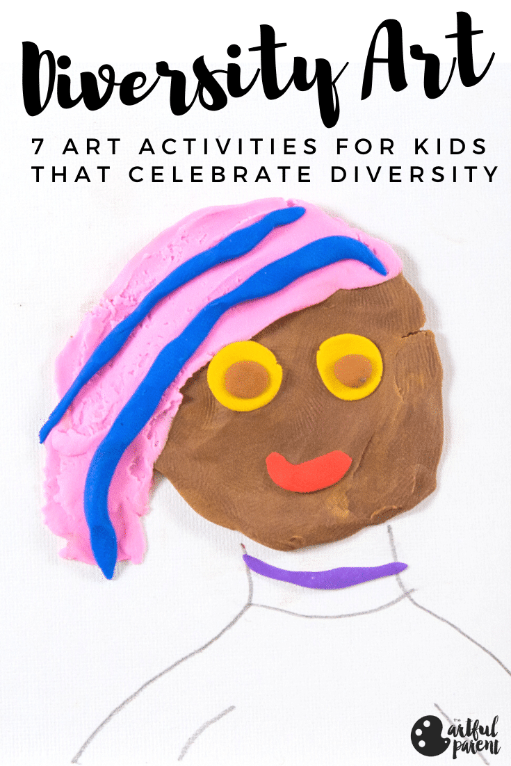 7 Diversity Art Activities for Kids with World Colors