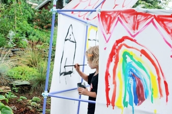 paint your own playhouse