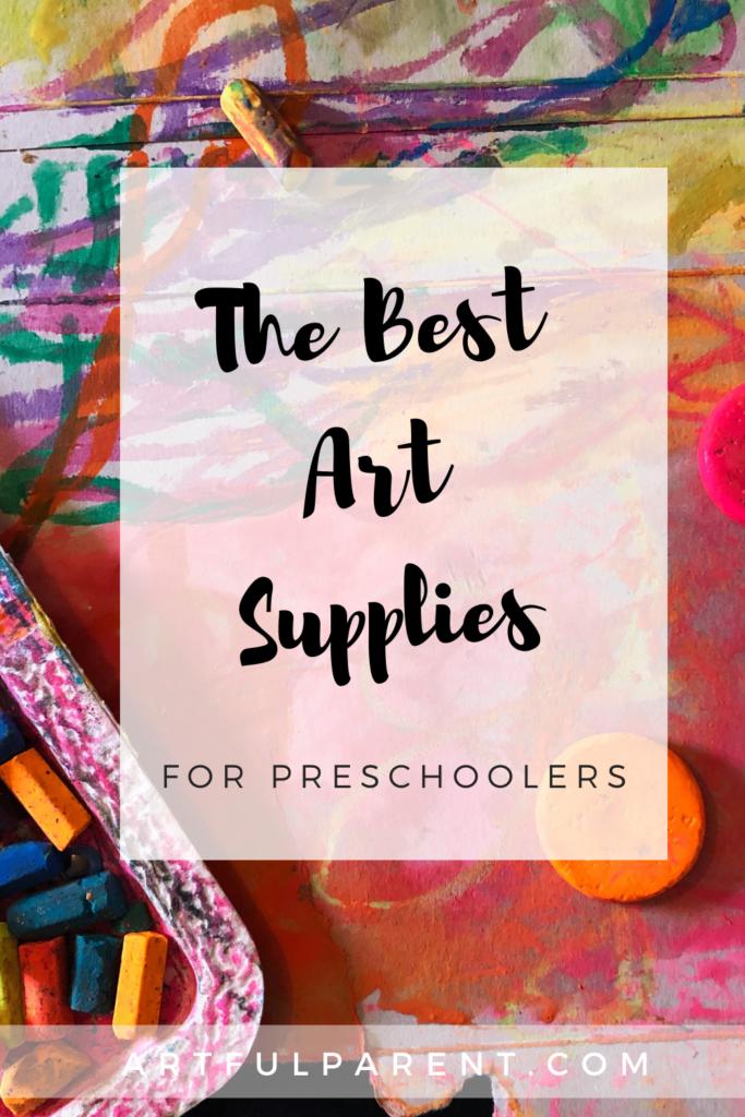 The best art supplies for preschoolers